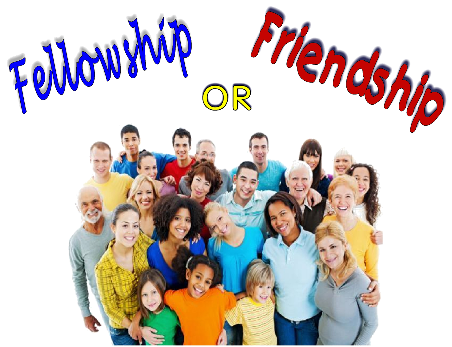 Image result for friendship in the church
