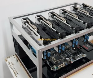 Aluminum Mining Rig Open-Air Frame 48