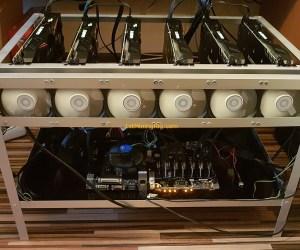Nvidia Gigabyte GeForce GTX 1070 G1 Gaming Mining Rig 2