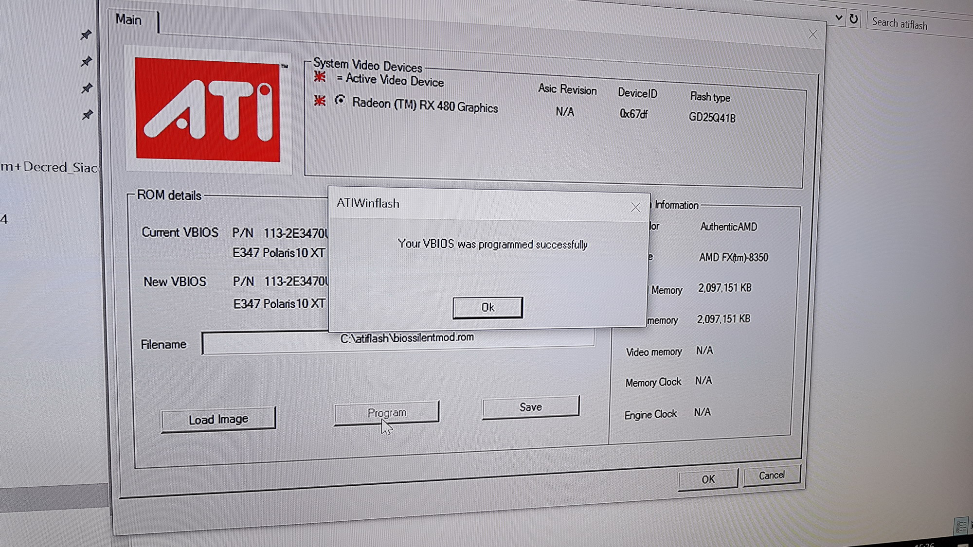 How to FIX & RE-Flash BIOS of Bricked GPU on RX 470 / 480 Series