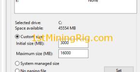 windows 10 virtual memory change