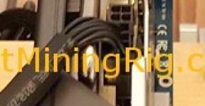 1 gpu 8 pin cable mining rig