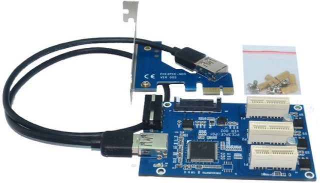 PCI-Express 1 to 3 PCI-e 1x Slots Riser Card: Is It Worth It