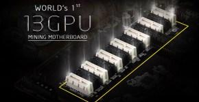 AsRock H110 Pro BTC+ 13 GPU Mining Motherboard 13x PCI-e
