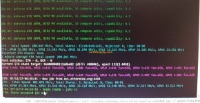 Gigabyte GTX 1070 8GB Mining Rig 6x GPU Ethereum Hashrate