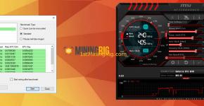 Gigabyte GTX 1070 8GB Nicehas mining benchmark 3