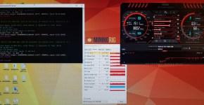 Nvidia Gigabyte GeForce GTX 1060 6GB Ethereum Mining Stock Clocks