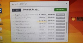 Gigabyte GeForce GTX 1070 8GB Mining Rig Nicehash Benchmark 6