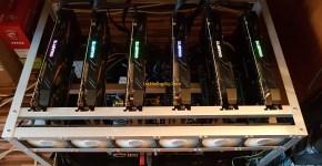 Gigabyte GeForce GTX 1070 8GB Mining Rig