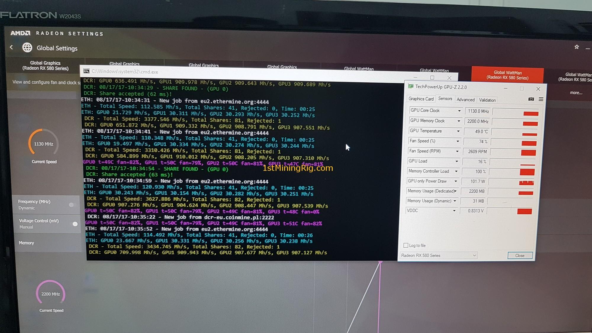 Monero Application Setup Zcash Mining Overclock Amd Rx480 Ubuntu