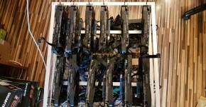 13x gpu mining rig frame 3