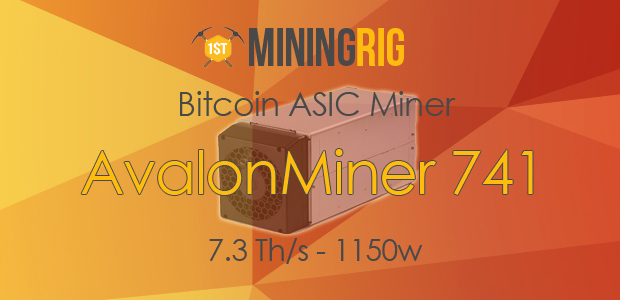 AvalonMiner 741 Review & Installation Guide - 1st Mining Rig
