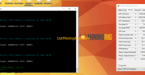 Claymore RX 470 8GB Mining Edition ZCash Mining Hashrate Performance