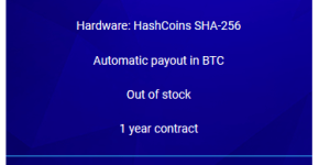 hashflare bitcoin cloud minig contract