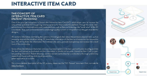 soma interactive item card IIC