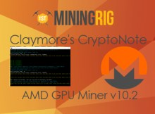 Claymore's CryptoNote AMD GPU Miner v10 2 Update Review