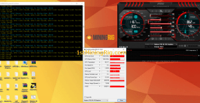 Claymore's CryptoNote AMD GPU Miner v9.7 Mining Monero Hashrate rx 470 4gb