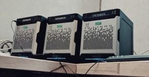 Minebox Gen8 being set up