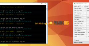 RX 580 8GB Special Edition Claymore Dual Mining Ethereum and Siacoin Hashrate and Power Draw 1