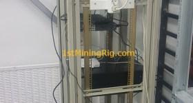 1stMiningRig Server Rack 4