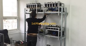 1stMiningRig Working on Mining Rigs 4