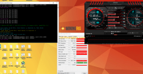 Gigabyte GeForce GTX 1070 Ti Gaming Ethereum Dual Mining LBRY Credits Hashrate Performance