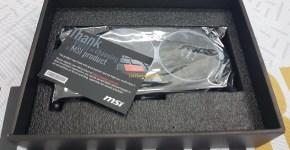 MSI GTX 1060 3GB Armor The GPU