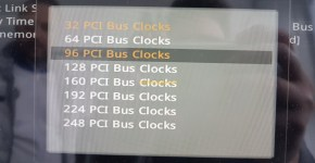 MSI Z370 SLI Plus 93 PCI Bus Clocks