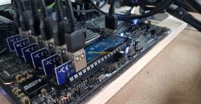 MSI Z370 SLI Plus Mining Motherboard M.2 PCI Express adapters