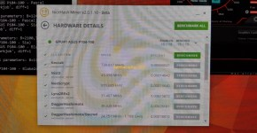Asus P104-100 4GB Nicehash Mining Hashrate 5