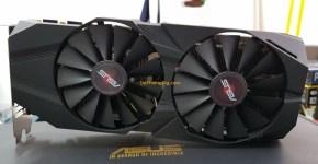 Asus P104-100 4GB Review Fans