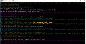 MSI GTX 1060 3GB Mining Rig Ethereum Dual Mining SmartCash KECCAK hashrate