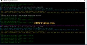 RX 580 4GB Mining Rig Ethereum Dual Mining Verge blake2s hashrate