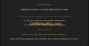 unicef game chainger charity mining software start mining