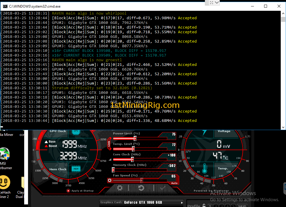 Nvidia Gtx 1060 Mining Monero What Currencies Can You Mine