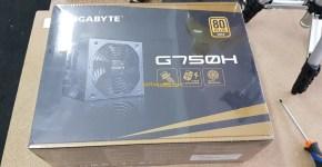 Gigabyte G750G Unboxing 11