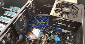 Gigabyte G750H PSU Review Mining Rig 1