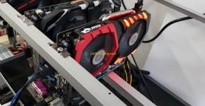Gigabyte GTX 1050 Ti 4GB Mining Rig Ravencoin Mining Hashrate
