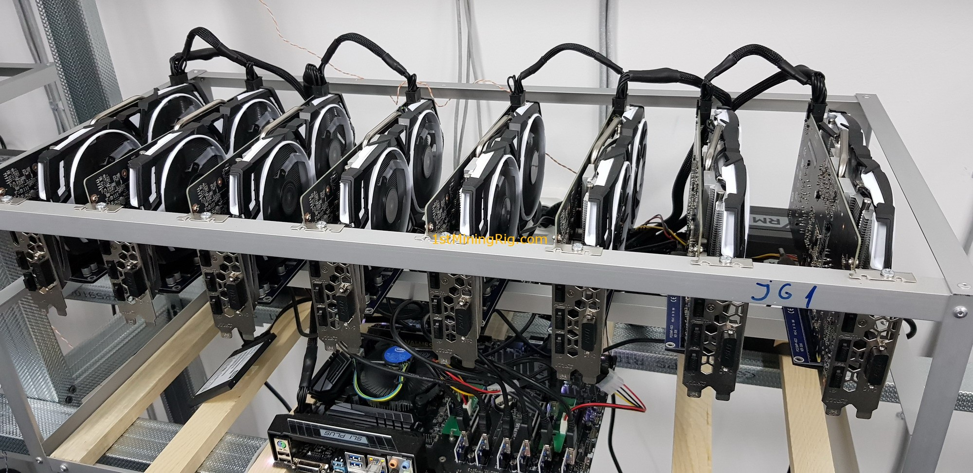 how to build a zcash mining rig