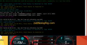 MSI GTX 1060 6GB Gaming X Ethereum Dual Mining LBRY Hashrate