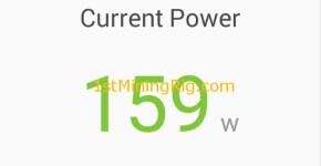 MSI GTX 1060 6GB Gaming X Ethereum Mining Power Consumption