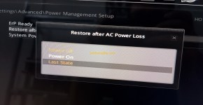 MSI Z370-A PRO AC Power Loss Last State