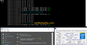 Ravencoin CPU Mining Intel i7 4790K Hashrate