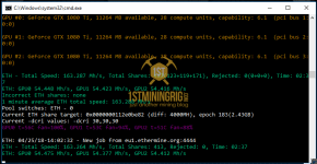 OhGodAnETHlargementPill MSI GTX 1080 Ti Ethereum Hashrate 2
