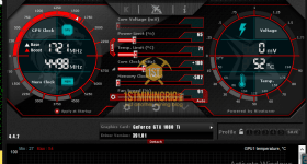 gtx 1080 ti 3x gpu mining rig msi afterbuner clocks settings for ravencoin z-enemy-1.05a