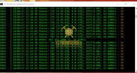 gtx 1080 ti 3x gpu mining rig z-enemy-1.05a miner hashrate benchmark 2