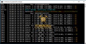 gtx 1080 ti 3x gpu mining rig z-enemy-1.08 miner hashrate benchmark 1