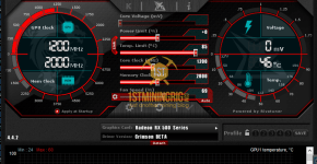 rx 580 8gb purk mining clocks and undervolt