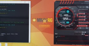 Gigabyte P104-100 4GB Ethereum Dual Mining SmartCash Keccak Hashrate Overclock