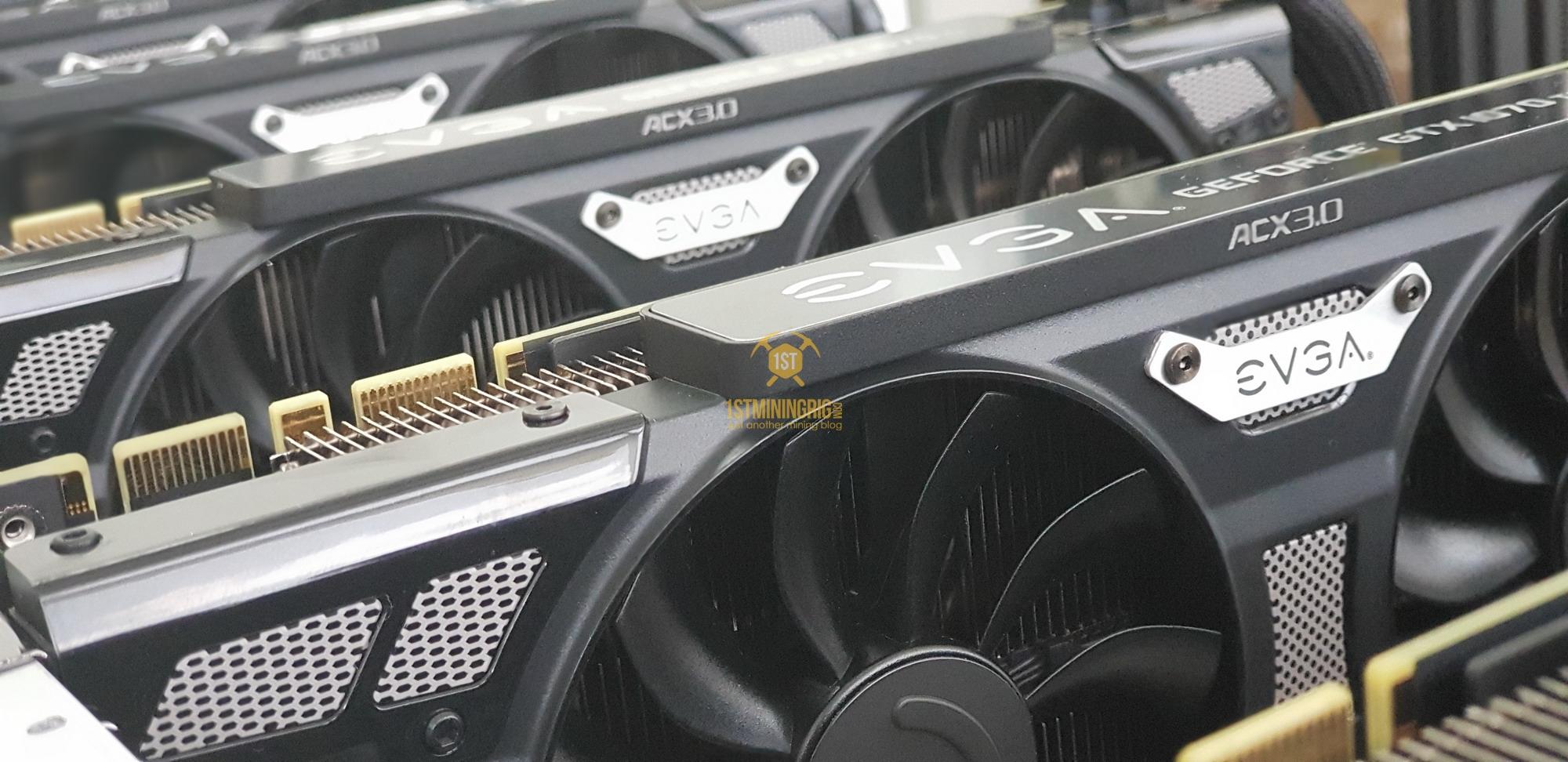 EVGA GTX 1070 Ti SC Gaming Black Edition - Mining